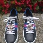 Nowe skórzane sneakersy trampki