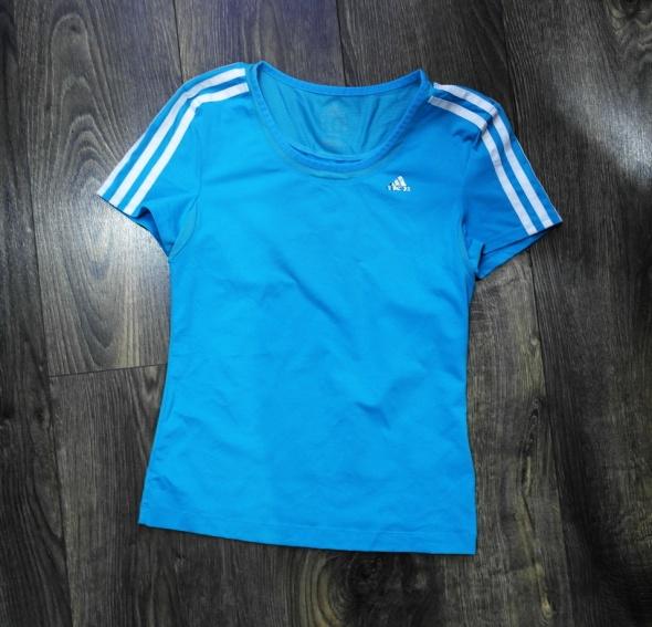 Adidas bluzka sportowa damska niebieska 36...