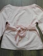 Śliczna bluzka różowa z kokardą XL...