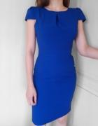 Niebieska sukienka New Look 36 stan idealny...
