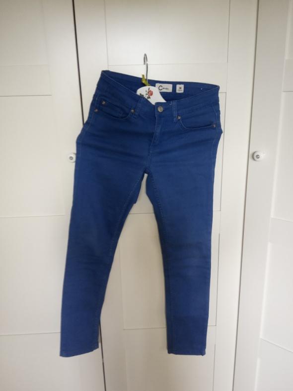jeansy rurki niebieskie cubus...