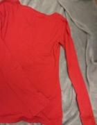 Czerwona bawełniana bluzka...