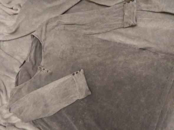 Bluzki Bluzka bawełniana szara rozmiar M