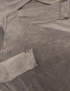 Bluzka bawełniana szara rozmiar M...