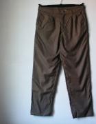 Spodnie męskie ocieplane beżowe R 48...