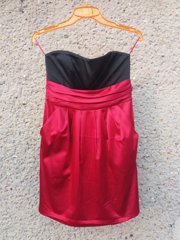 Suknie i sukienki Sukienka koktajlowa borowo czarna 36 New Yorker