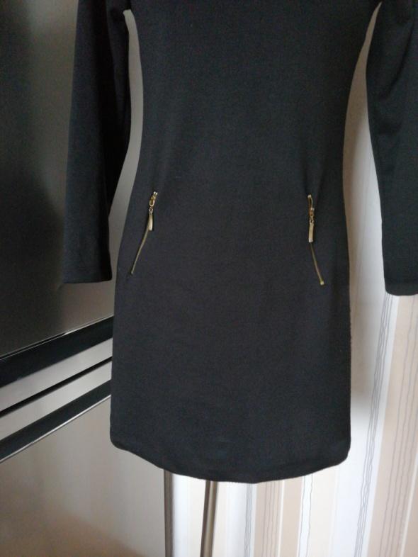 Greence sukienka damska złote zamki