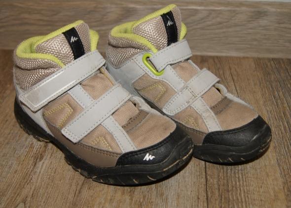 Buty buciki chłopiec Quechua rzepy rozm 30