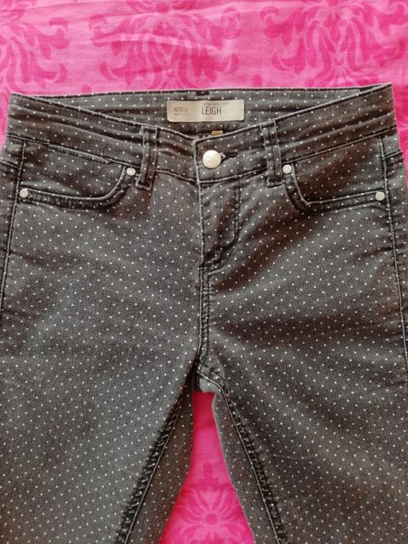 Spodnie w kropki...