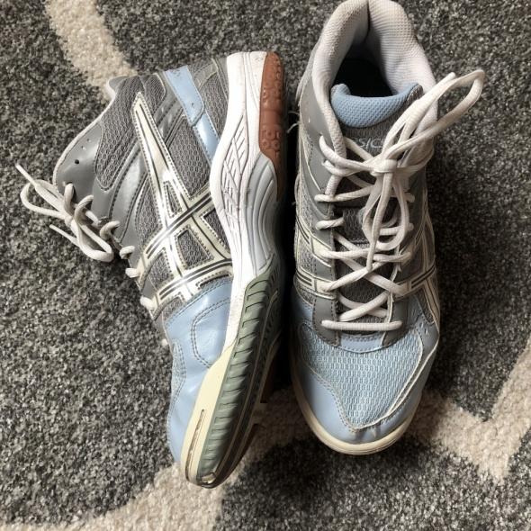 Buty Sportowe ASICS biało błękitne rozmiar 40