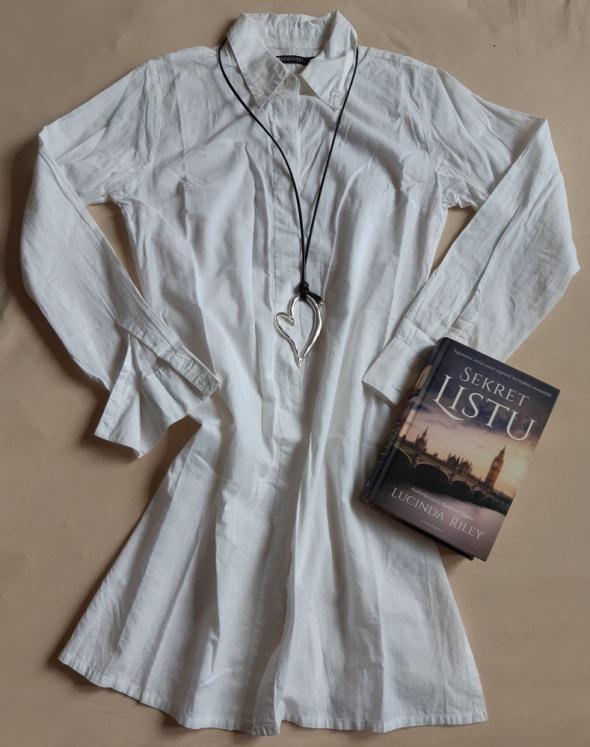 Koszule Biała koszula Reserved rozm S