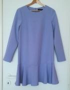 Sukienka z falbaną Mohito...