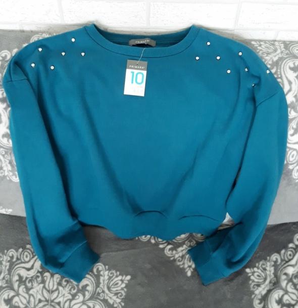 Bluza typ oversize dżety