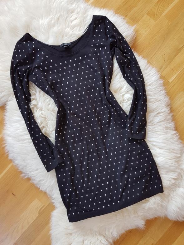 Czarna sukienka H&M 36 38