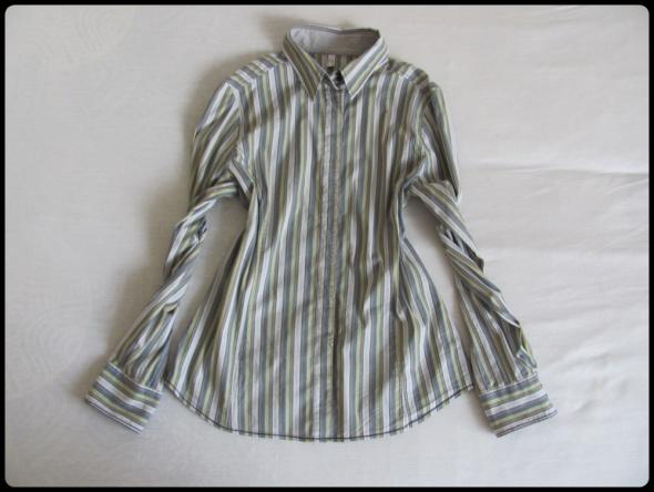 Koszula damska w paseczki rozmiar 40 L