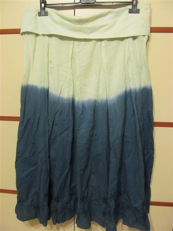 dłługa oryginalna cieniowana spódnica od 44 do 48...