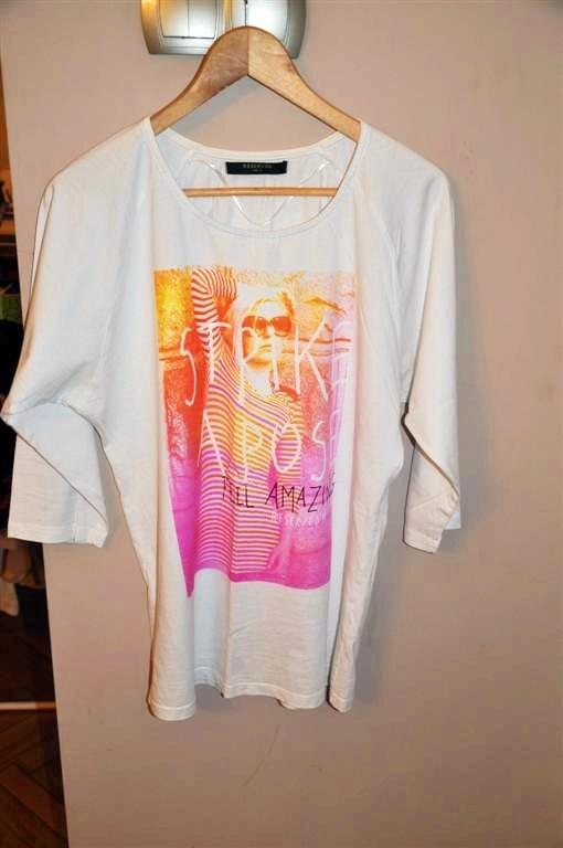 bawełniana bluzka Reserved XL