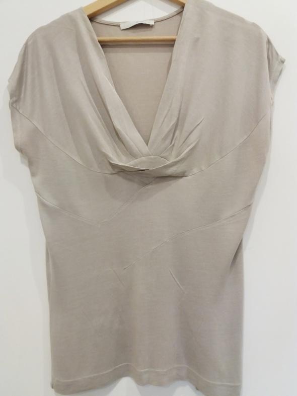 Bluzki beżowa bluzka Reserved L