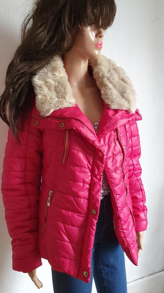 Różowa przejściowa kurteczka r 40