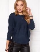 Jak nowy sweter pulower oversize Only model Bridget L XL granat...