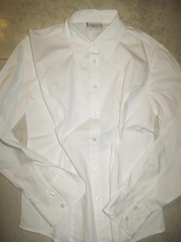 LAURA KENT białe elegancka koszula damska roz 36