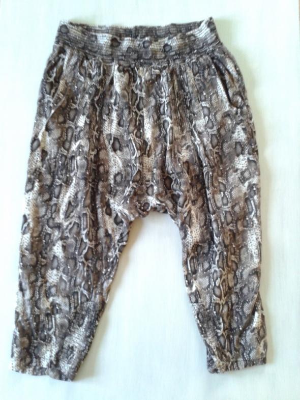 Spodnie alladynki KAPPAHL print 40 42 L XL