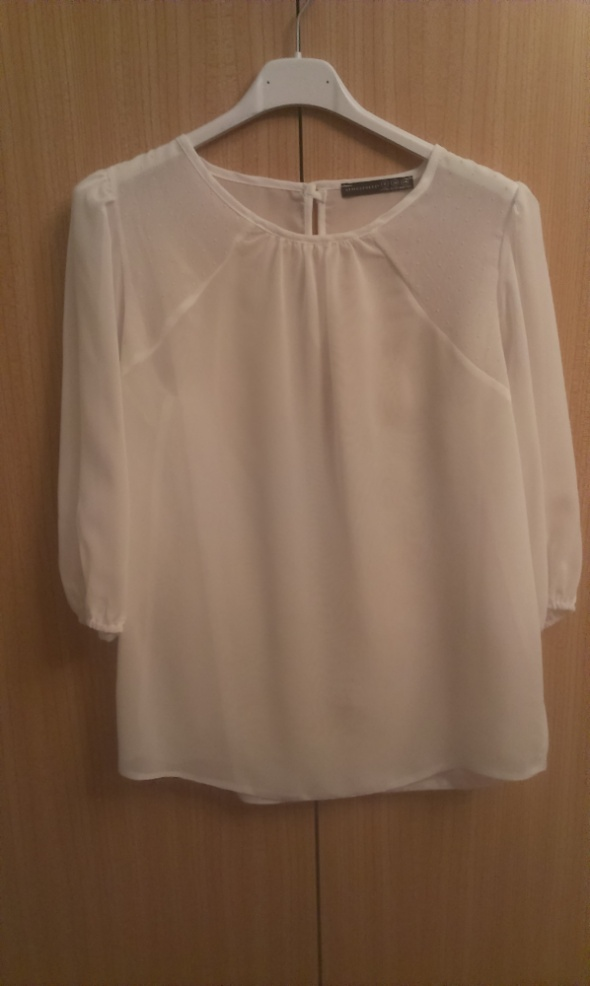 Elegancka bluzka mgiełka biała Atmosphere XS