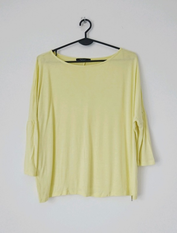 Mohito żółta bluzka oversize