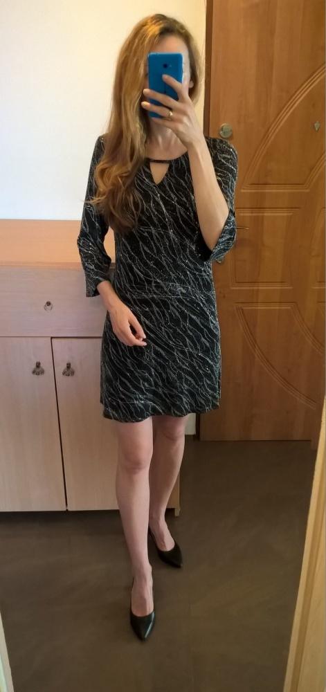 Elegancka sukienka 40 42 sylwester impreza