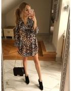 Sukienka pantera...