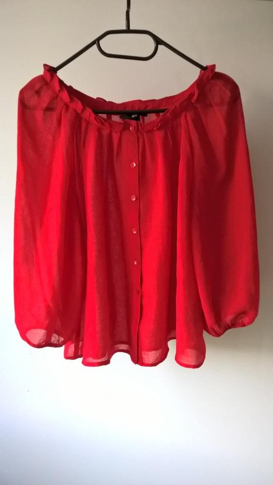 Czerwona bluzeczka XS S