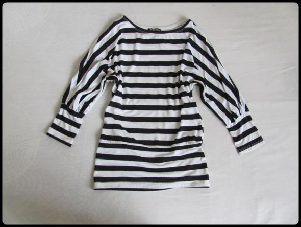 Marynarska bluzka w paski czarno białe rozmiar 38 i 40