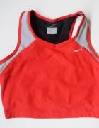 Stanik Sportowy Nike Czerwony Dri Fit Top M 38...