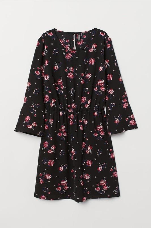 Sukienka w Kwiaty na lato przewiewna H&M...