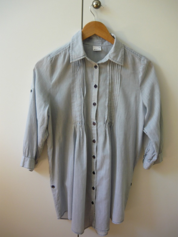 Koszule Długa koszula w paski Gina Tricot 34