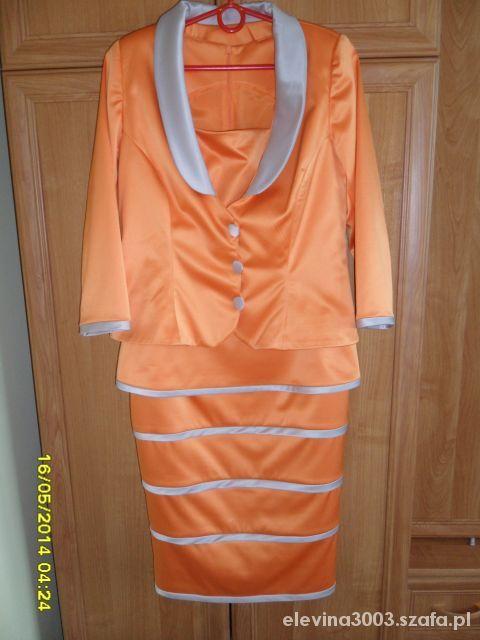 Komplet sukienka i żakiet L
