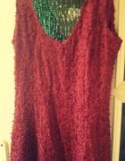 Sexowna czerwona sukienka...