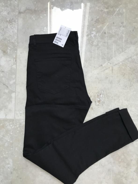 Czarne spodnie H&M rozmiar 38