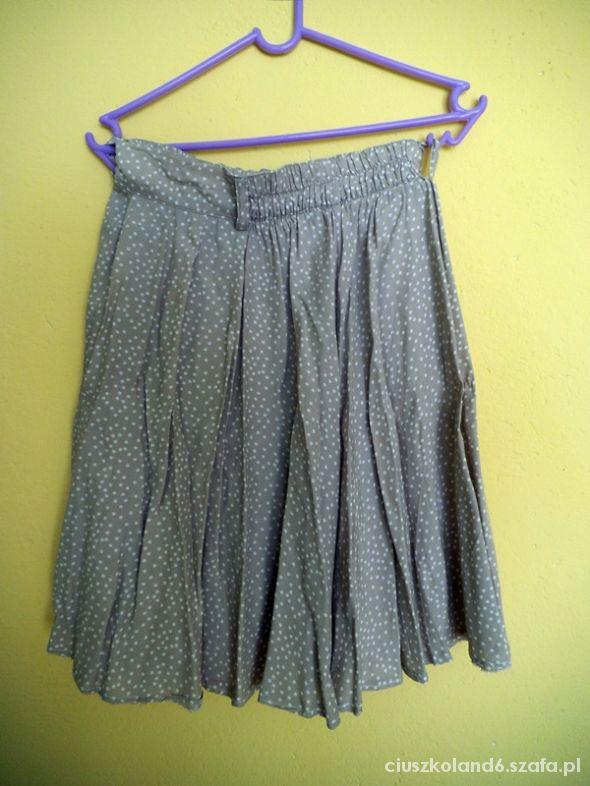Spódnice spódniczka w grochy 36 s zakładana zwiewna