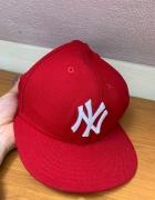 Czapka Fullcap New Era NY czerwona...