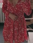 Piękna sukienka BooHoo kwiaty Xs S...