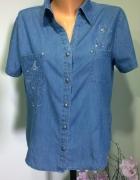 koszula jeansowa haft 40 42...