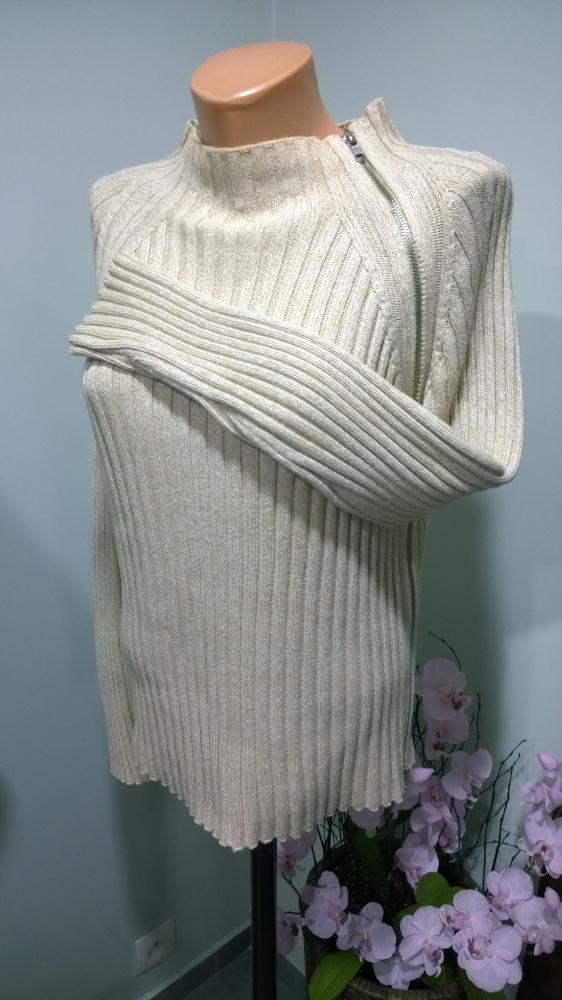 Swetry sweter zip 42