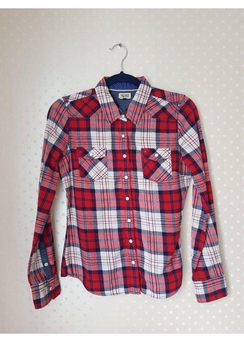 Koszule Tommy Hilfiger koszula w kratę