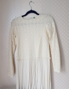 Benetton beżowa sukienka...