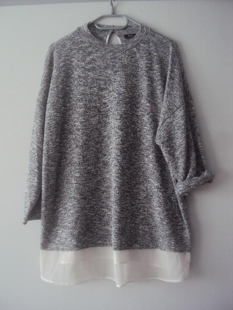 melanżowa blueczka koszulka