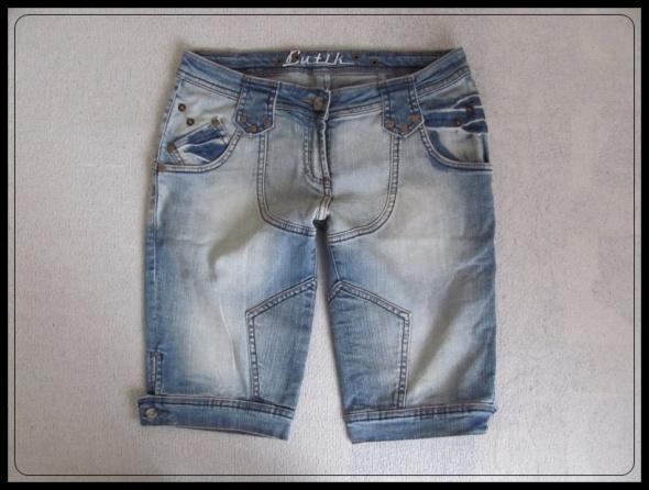 szorty spodenki jeansowe rozmiar S i M stan bdb