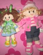 Dwie lalki szmacianki przytulanki...