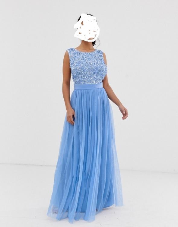 MAYA sukienka niebieska 36
