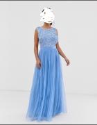 MAYA sukienka niebieska 36...